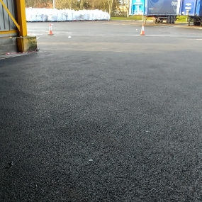 Resurfacing Works to Lorry Park
