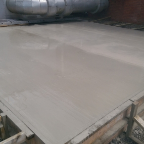 Concrete Base for Air System