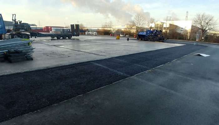 Carpark Extension Works - Deeside