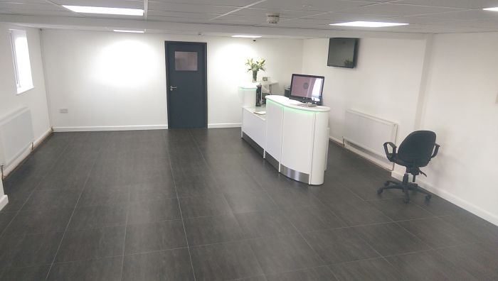 Reception Refurbishment - Deeside